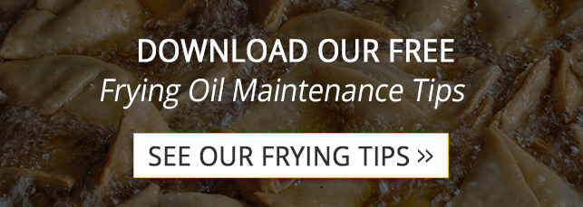 frying oil tips