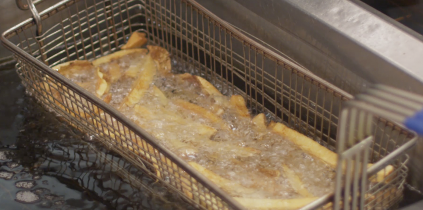 Cascading Frying Oil in Foodservice Fryers