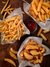 Different French Fries